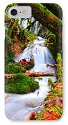 Cascade Creek IPhone Case by Randy Giesbrecht
