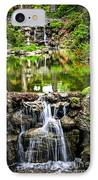 Cascading Waterfall And Pond IPhone Case by Elena Elisseeva