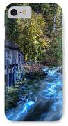 Cedar Creek Grist Mill IPhone Case by Puget  Exposure