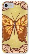 Ceramic Butterfly IPhone Case