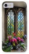 Chapel Flowers IPhone Case by Adrian Evans