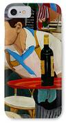 Chardonnay IPhone Case by Anthony Dunphy