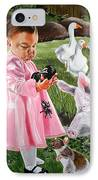 Charlotte's Web IPhone Case by Belle Massey