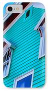 Charming Sleepy Seaside Home IPhone Case by Patricia L Davidson