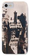 Chateau Fortified By Two Bridges IPhone Case by Victor Hugo