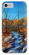 Cheerful Fall IPhone Case by Anastasiya Malakhova