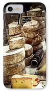 Cheeses On The Market In France IPhone Case by Elena Elisseeva