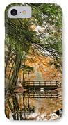 Chenango Valley State Park IPhone Case by Christina Rollo