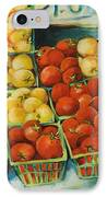 Cherry Tomatoes IPhone Case by Jen Norton