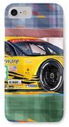 Chevrolet Corvette C6r Gte Pro Le Mans 24 2012 IPhone Case