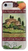 Chianti And Friends Collage 1 IPhone Case by Debbie DeWitt