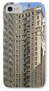 Chicago - Emergency Fire Escape IPhone Case by Christine Till