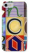 Chicago Picasso Squares IPhone Case by Carla Bank