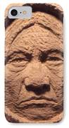 Chief-sitting-bull IPhone Case by Gordon Punt