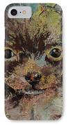 Chihuahua IPhone Case by Michael Creese
