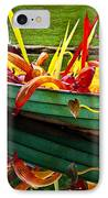 Chihuly Boat IPhone Case by Diana Powell