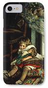 Children Dreaming Of Toys IPhone Case