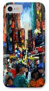 China Town IPhone Case by Anthony Falbo