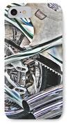 Chopper Belt Drive Detail IPhone Case by Samuel Sheats