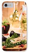 Chopping Herbs IPhone Case by Amanda Elwell
