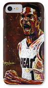 Chris Bosh IPhone Case by Maria Arango