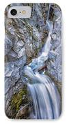 Christine Falls In Mount Rainier National Park IPhone Case