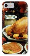 Christmas Dinner IPhone Case