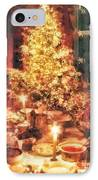 Christmas Eve IPhone Case by Mo T