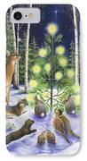 Christmas Magic IPhone Case by Lynn Bywaters