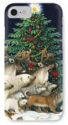 Christmas Parade IPhone Case by Lynn Bywaters