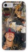 Chronicles De Burque IPhone Case by Eric Christo Martinez