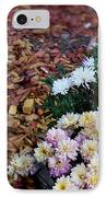 Chrysanthemums In The Forest IPhone Case by Ioana Ciurariu