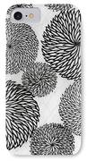 Chrysanthemums IPhone Case by Japanese School
