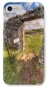 Church Gate IPhone Case by Adrian Evans