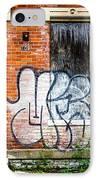 Cincinnati Glencoe Auburn Place Graffiti Picture IPhone Case