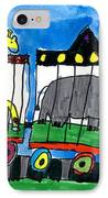 Circus Train IPhone Case by Max Kaderabek Age Eight