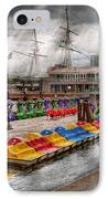 City - Baltimore Md - Modern Maryland IPhone Case by Mike Savad