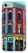 City - Hannibal Missouri - Mark Twain- Luther Fine Art IPhone Case