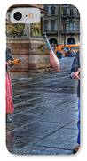 City Jugglers IPhone Case by Ron Shoshani