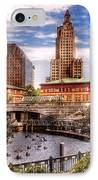 City - Providence Ri - The Skyline IPhone Case by Mike Savad