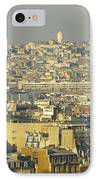 Cityscape Of Paris Paris, France IPhone Case by Ingrid Rasmussen