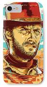 Clint Eastwood Pop Art IPhone Case
