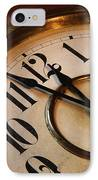 Clock Face IPhone Case