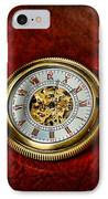 Clock - The Pocket Watch IPhone Case by Paul Ward