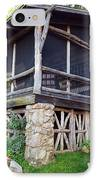 Closer View Of The Cabin IPhone Case by Robert Margetts