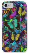 Cloured Butterfly Explosion IPhone Case