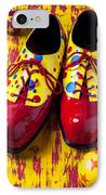 Clown Shoes And Balls IPhone Case by Garry Gay