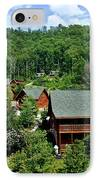 Cluster Cottages IPhone Case by Frozen in Time Fine Art Photography