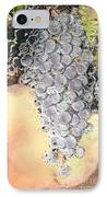 Cluster Of Grapes IPhone Case by Artist and Photographer Laura Wrede