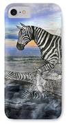 Coastal Stripes I IPhone Case by Betsy Knapp